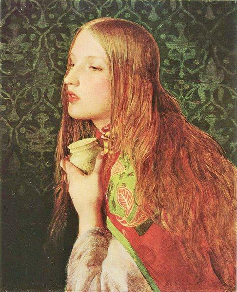 Mary Magdalene - Frederick Sandys (1829-1904)